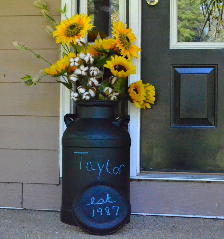 1000 Ideas About Milk Can Decor On Pinterest Crate