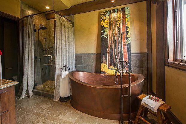 25+ Best Ideas About Rustic Cabin Bathroom On Pinterest