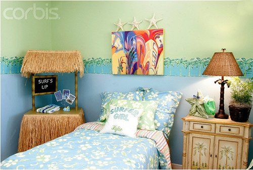 Tropical Beach Style Bedroom
