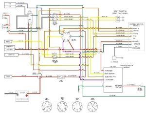 Craftsman Riding Mower Electrical Diagram | RE: Cub Cadet LT1045 PTO Disengaging | lawnmowers