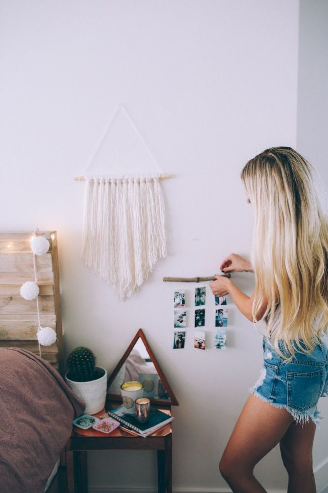 Diy Summer Room Decor Inspired By Pinterest Makeover