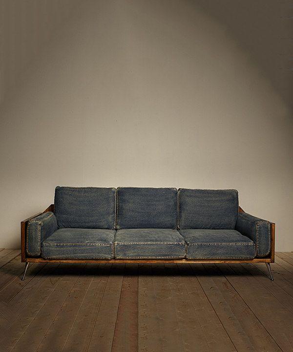 25 Best Ideas About Denim Sofa On Pinterest Bench Jeans