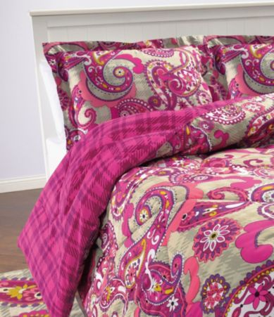 Vera Bradley Paisley Meets Plaid Bedding Collection