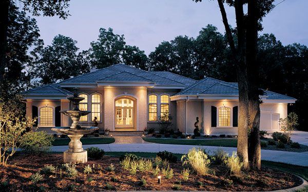 Stucco Exterior, House Plans And Style
