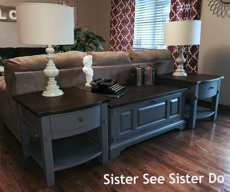 25+ Best Ideas About Painted End Tables On Pinterest
