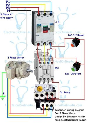 stop start wiring diagram for air pressor with overload  Google Search | Corne | Pinterest