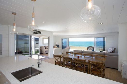 All White Home Interiors Great Views Open Plan Lockwood