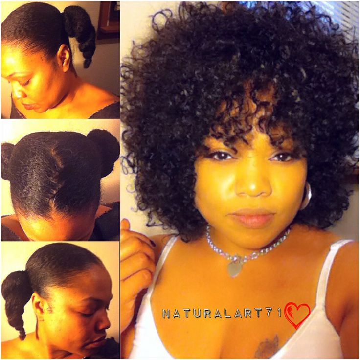 How Im Maintaining My Natural Hair Under My Half Wig