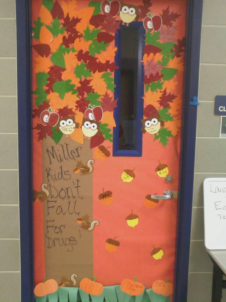 Kids Dont Fall For Drugs Red Ribbon Week Decorating