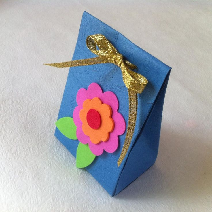 Diy paper gift box for mothers day mothers gifts and sweet
