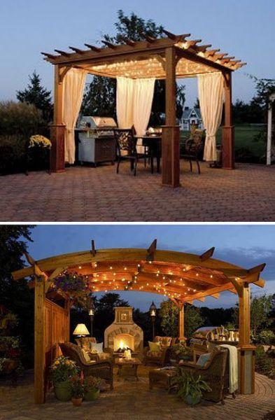 outdoor pergola gazebo patio ideas 25+ best ideas about Patio Gazebo on Pinterest | Patio