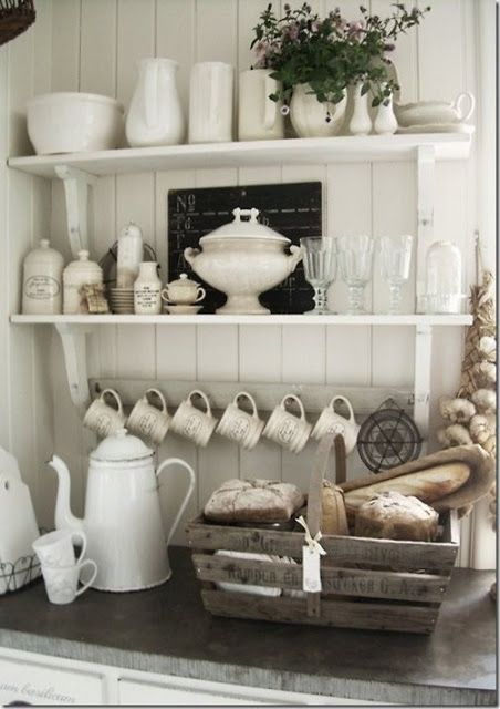Great ideas for farmhouse decor-  Ten Ways to Add Farmhouse Style to a Suburban Home by The Everyday Home: