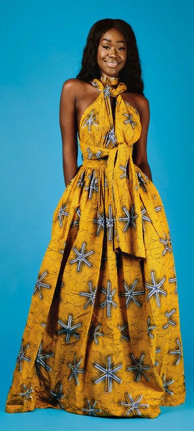 Maxi INFINITY in yellow * end of year clearance*. African ...