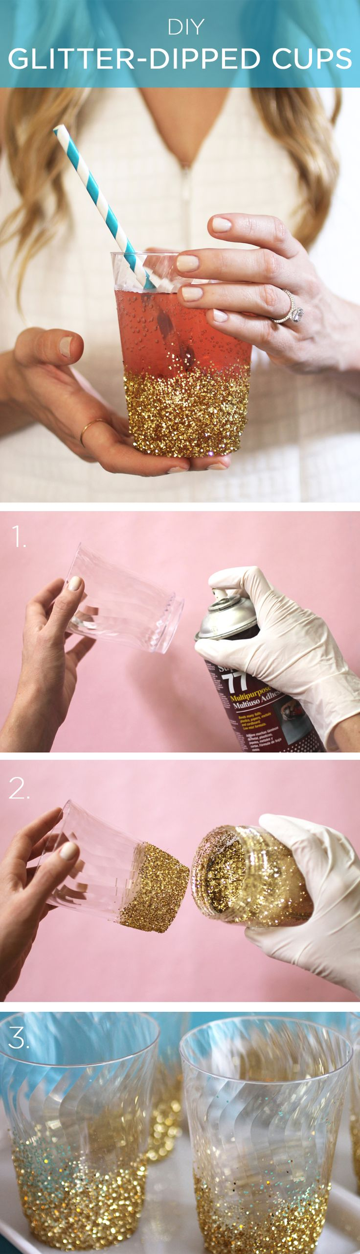 Add some glam to your drink