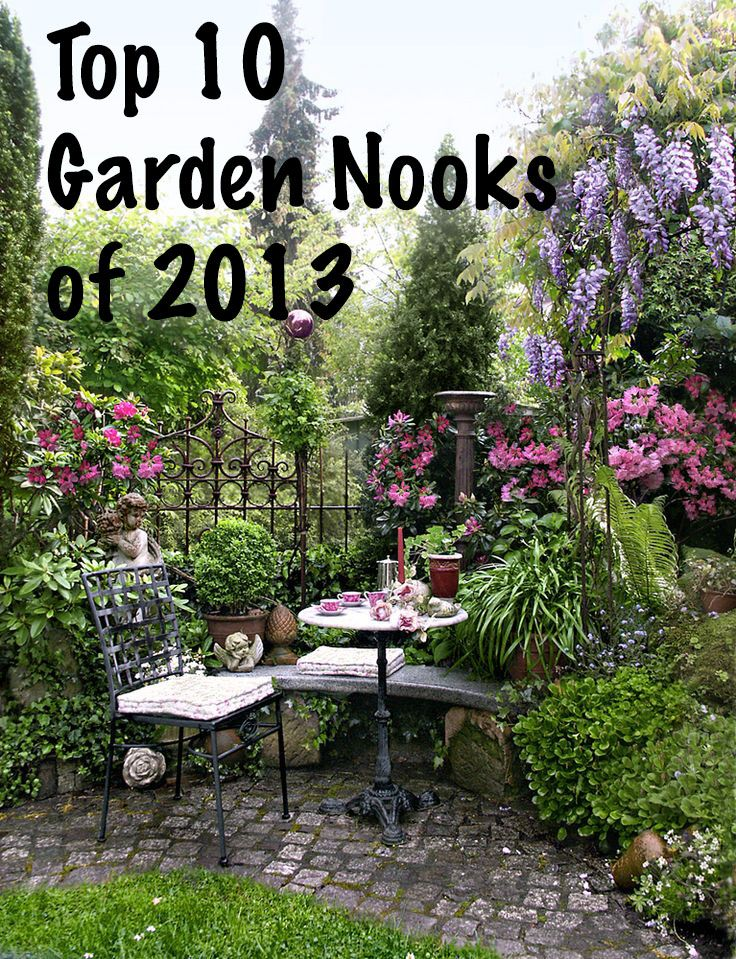 Top 10 Garden Nooks of 2013 #garden #diy #landscape ... on Backyard Nook Ideas id=71845