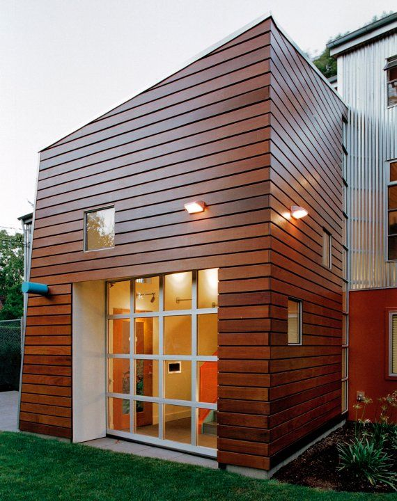 21 best Modern Wood Siding images on Pinterest on Modern Siding  id=52511
