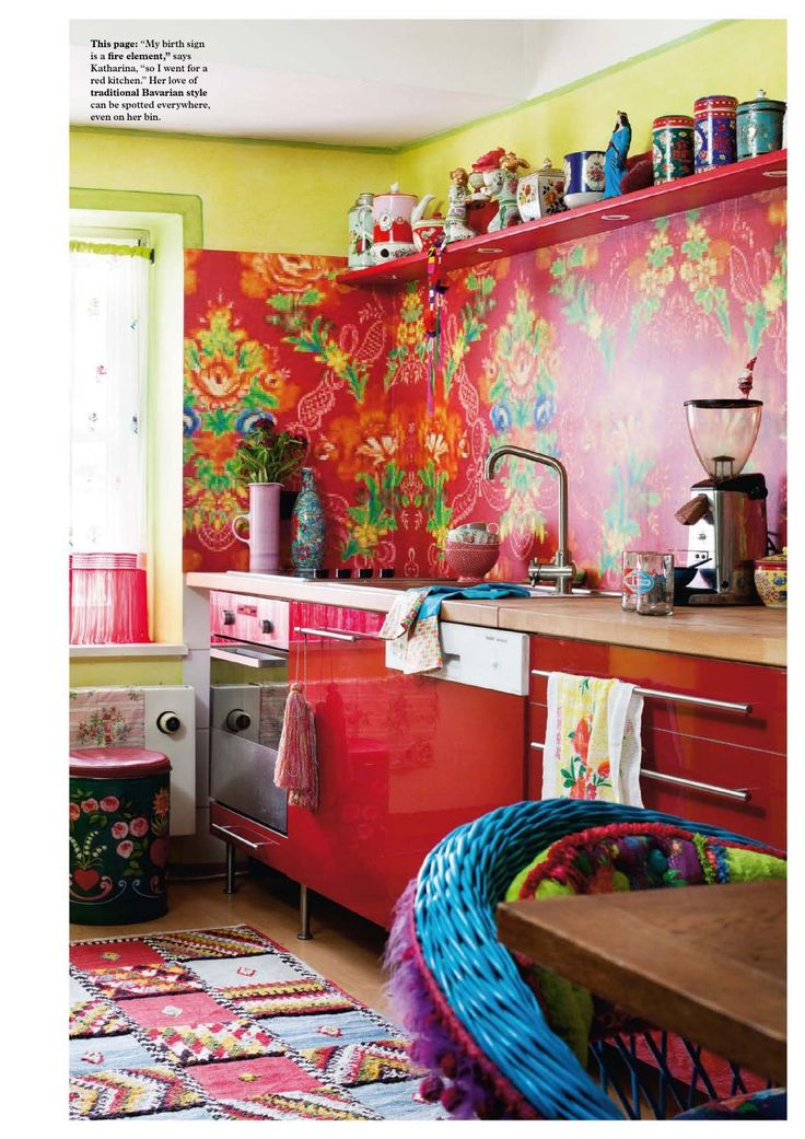 beautiful bright color kitchen to wake up to katharina on show me beautiful wall color id=30159