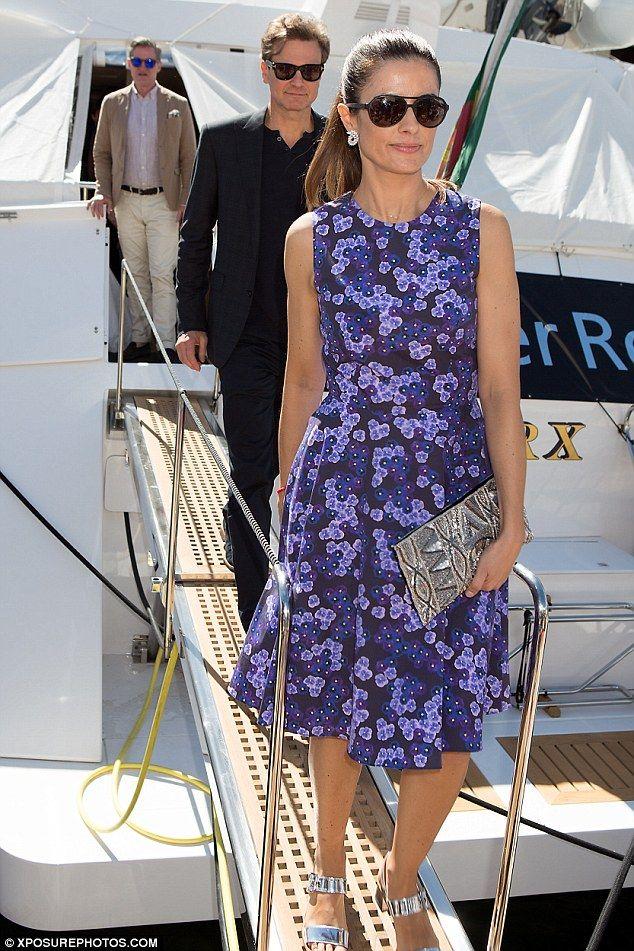 Colin Firth And Wife Livia Giuggioli Leave Their Elegant