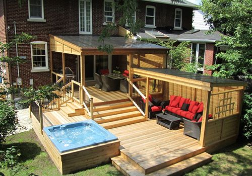 pool patio ideas extend your patio on to your garden on wow awesome backyard patio designs ideas for copy id=77814
