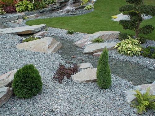 slate garden landscaping Green Slate Chippings 20mm | Decorative Aggregates | Home