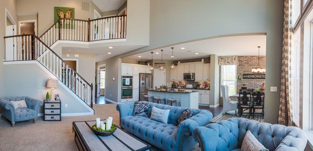 Fischer Homes Clay Family Room New House Ideas