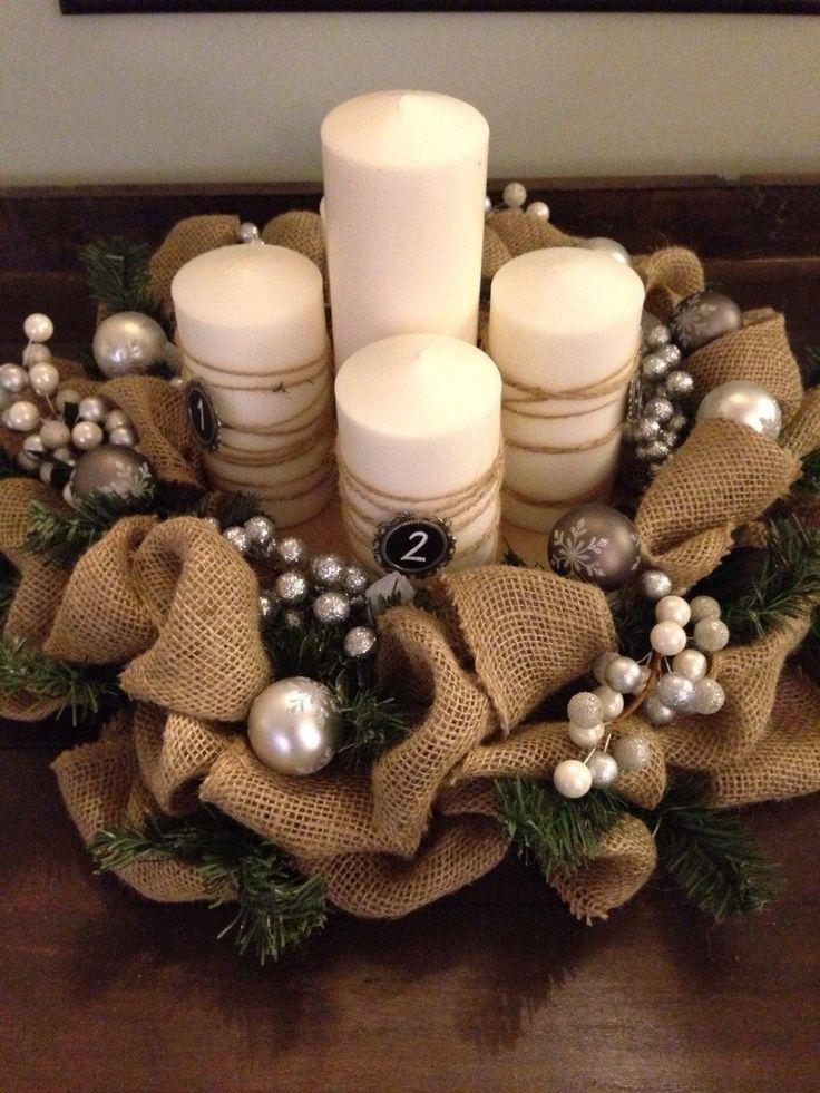 1000 Ideas About Diy Advent Wreath On Pinterest Advent