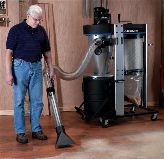 Woodworking Tool News - Delta Portable Cyclone Dust Collector ...