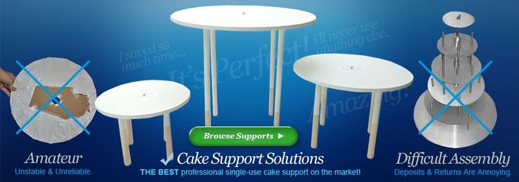 Professional Quality Cake Boards And Tier Supports By Cake
