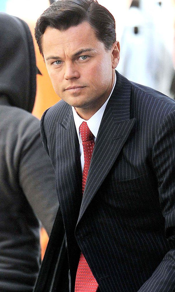 leonardo dicaprio on the set of the wolf of wall street on simply wall street id=64227