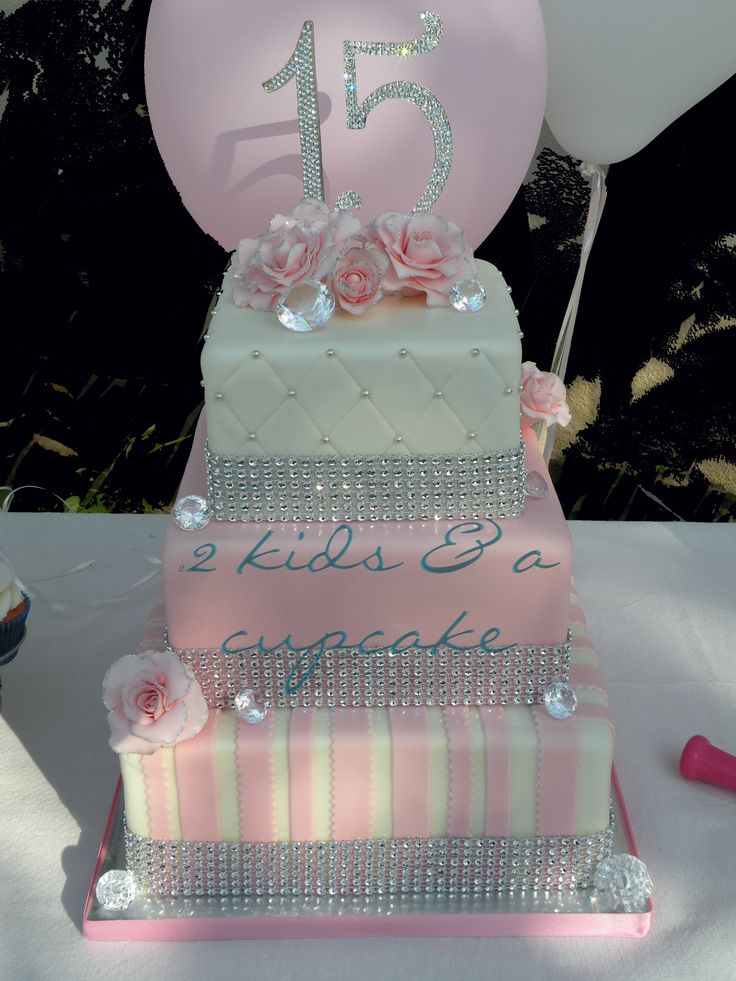 quinceanera cake  – made this for a