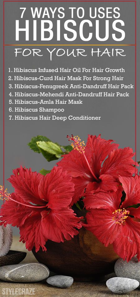 15 Amazing Ways To Use Hibiscus For Your Hair Serum