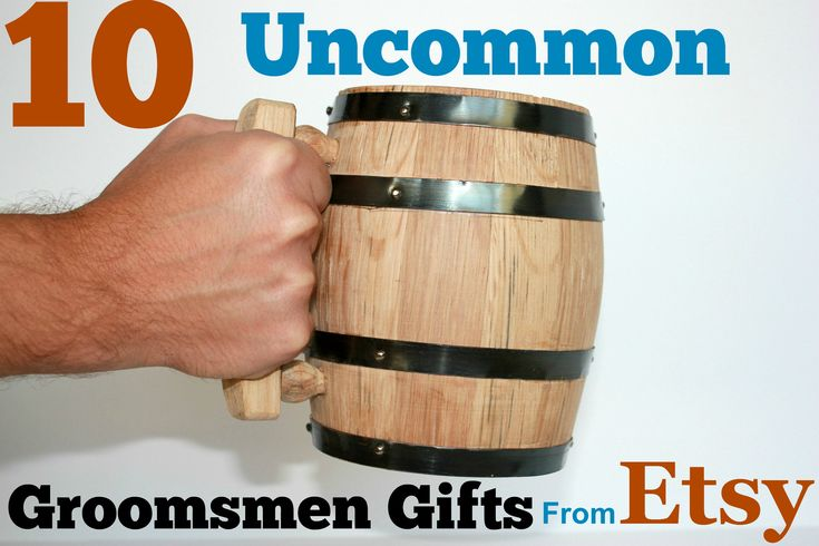 Uncommon groomsmen gifts found on Etsy — 10 unique ideas that havent been overdone!