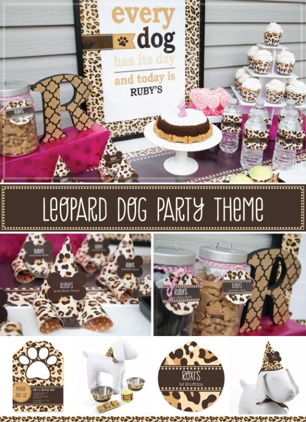34 best images about Animal Print Dog Party Themes on ...