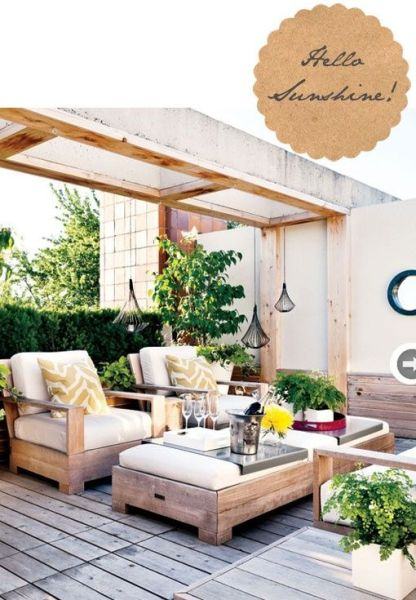rustic outdoor patio furniture 1000+ ideas about Outdoor Furniture on Pinterest | Wood