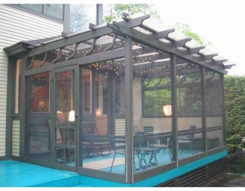 15 Enclosed Modern Pergolas Can Be Used All Year Round