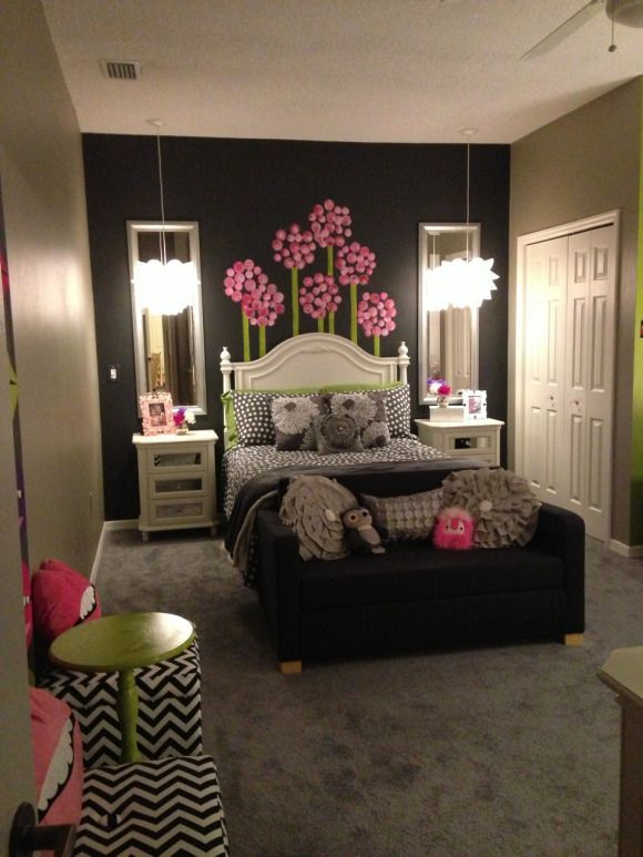 Girls Room Age 10 Amp Up Room To Grow Grey Tones With