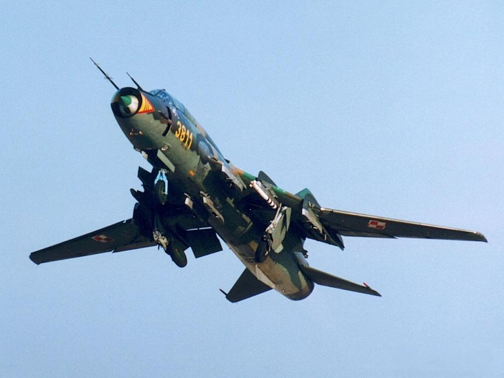 Sukhoi Su 17 Fitter Fighter Aircraft Pinterest More