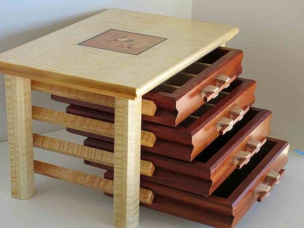 Building Jewelry Box Drawers WoodWorking Projects Amp Plans