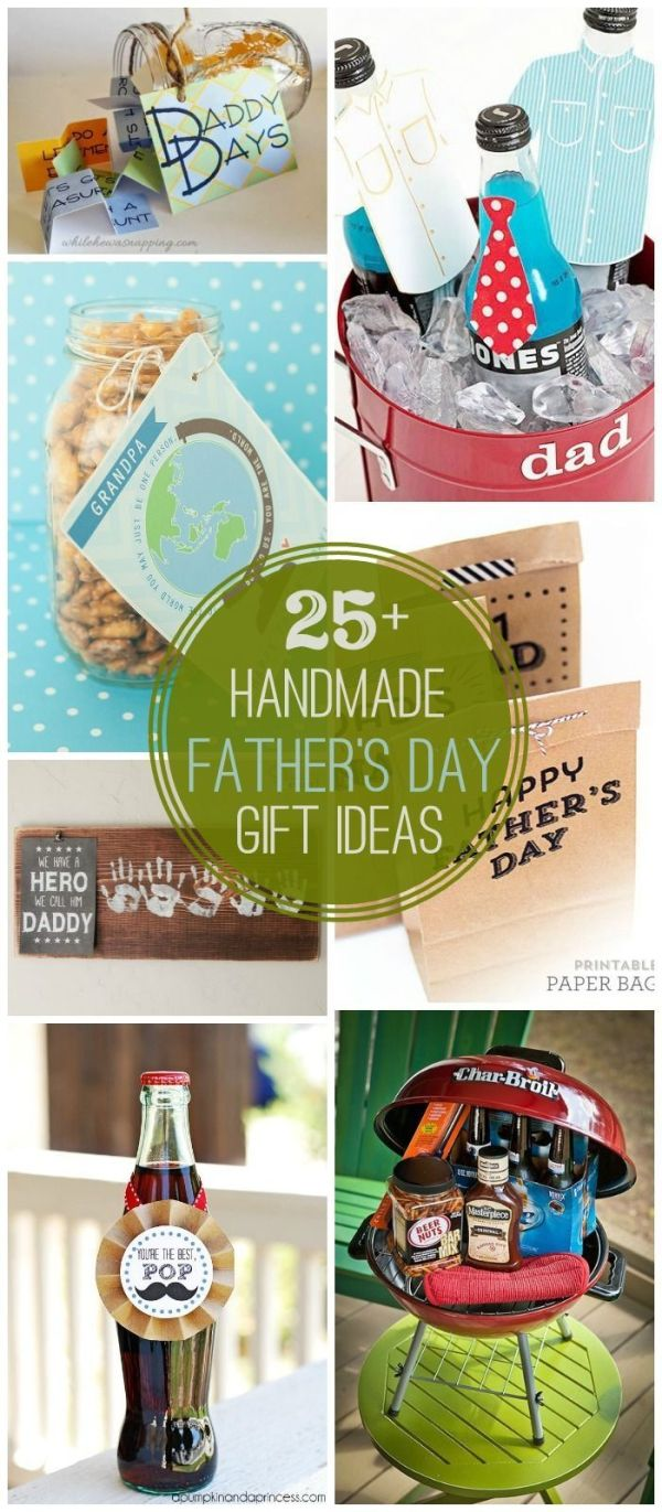 25+ DIY Father's Day Gift Ideas - a great collection of ...