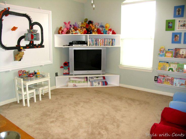 Corner tv setup more to do home loves pinterest