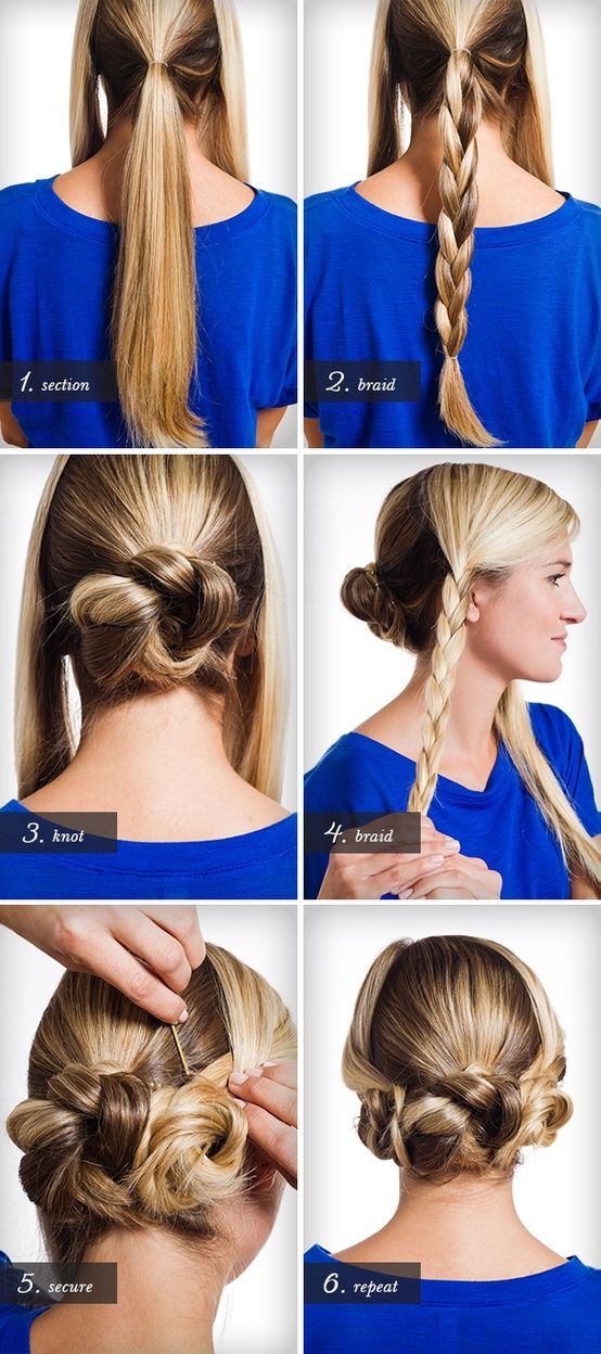 This is a very easy to do hairstyle for teens and young girls. All you need are: