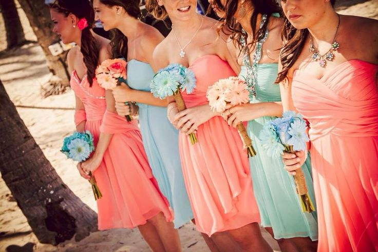 48 Best Images About Tiffany Blue & Coral Wedding On