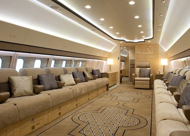 Private Interior Photos Boeing 777 PHOTOS Boeing