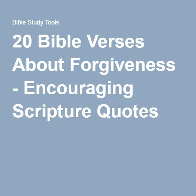 verses about unforgiveness