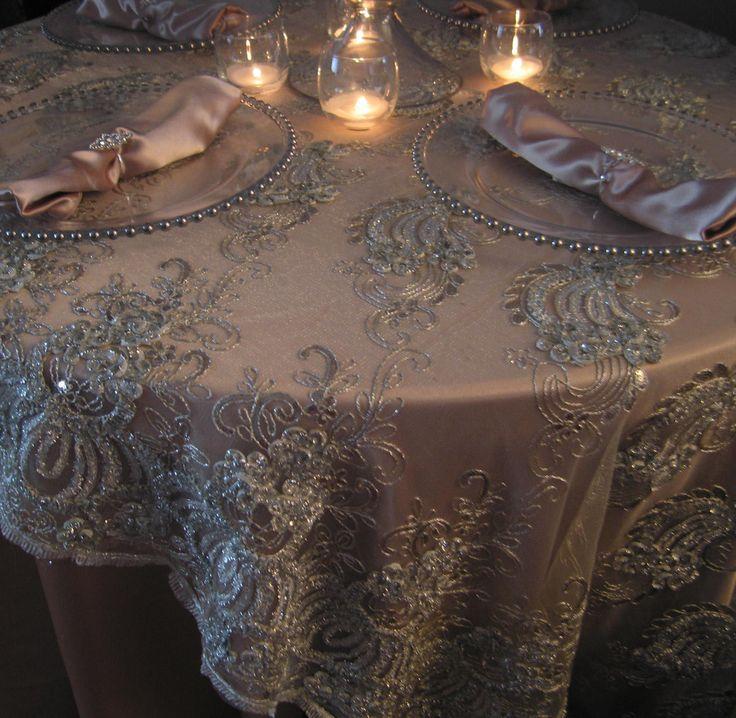 25 Best Ideas About Wedding Tablecloths On Pinterest