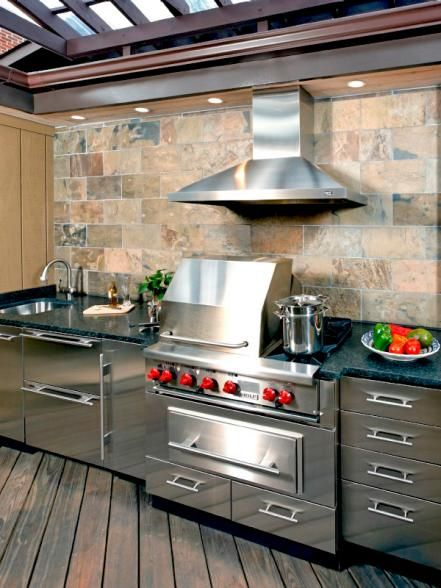 top 975 ideas about summer outdoor kitchens grills and smokers on pinterest built in grill on outdoor kitchen with smoker id=87305