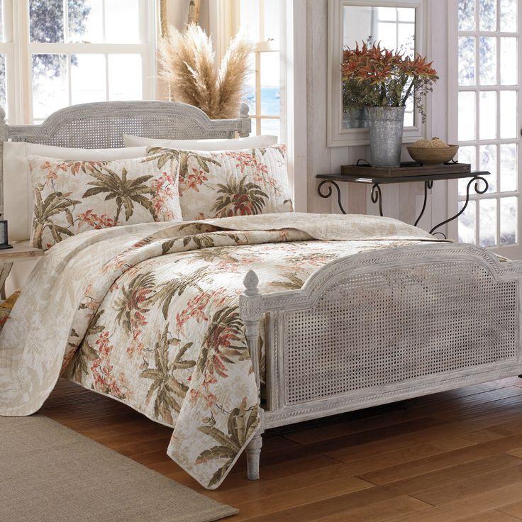 Tommybahama Bonny Cove Quilt Tropical Coastal Bed
