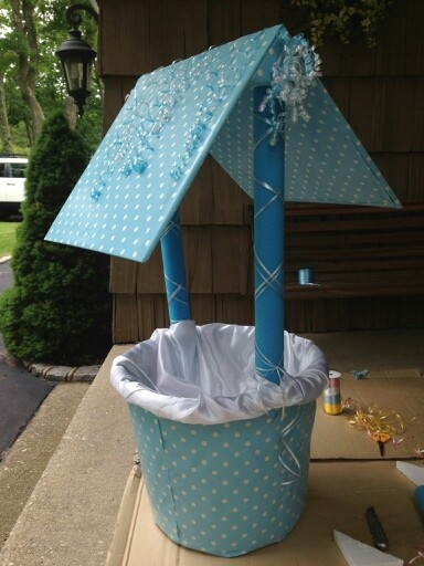Baby Shower Wishing Well DIY Pinterest Baby Showers Babies And Showers