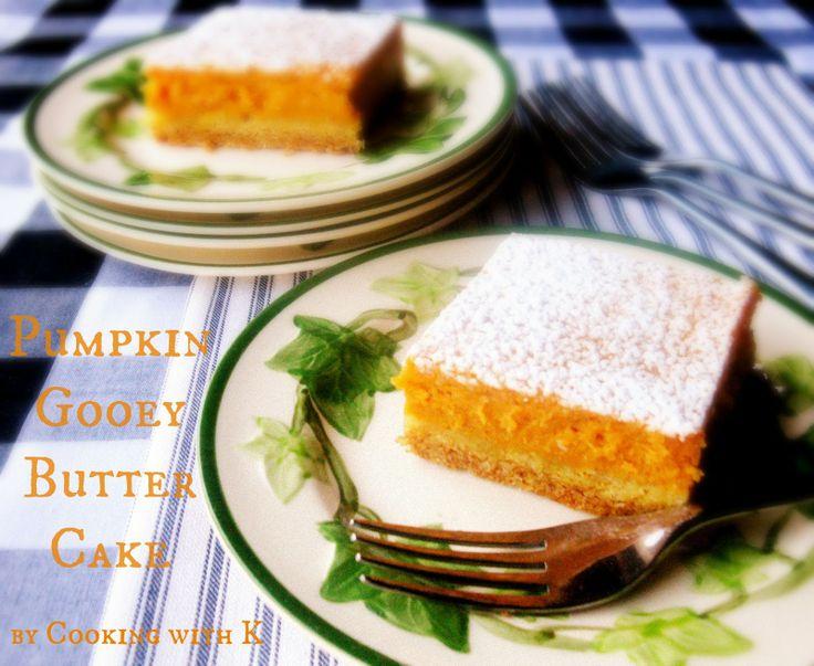 Pumpkin Gooey Butter Cake {My all time favorite pumpkin dessert}