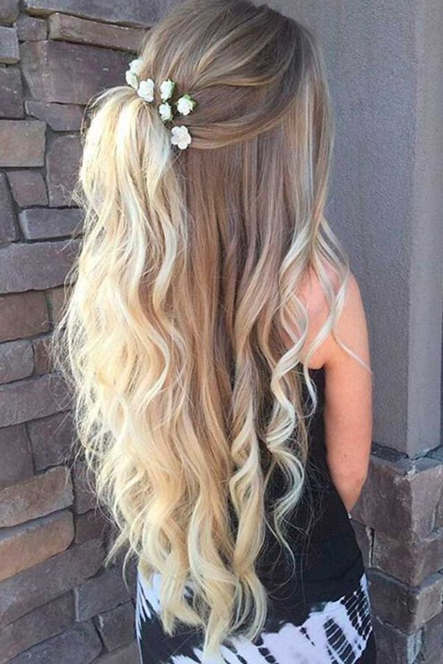Cute  Homecoming  Hairstyles  Down Hair